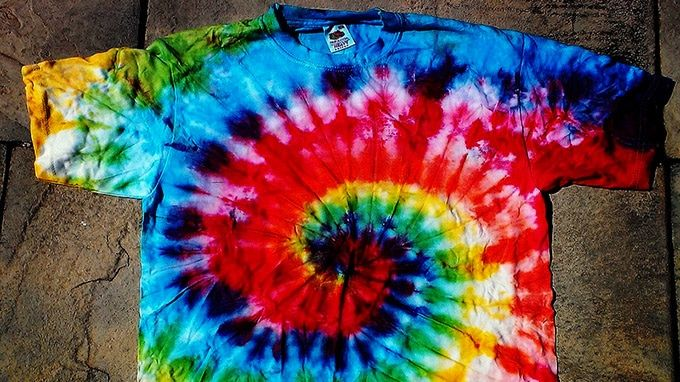 40 Easy Tiedye Patterns For TShirts LifeDaily Interesting Simple Tie Dye Patterns