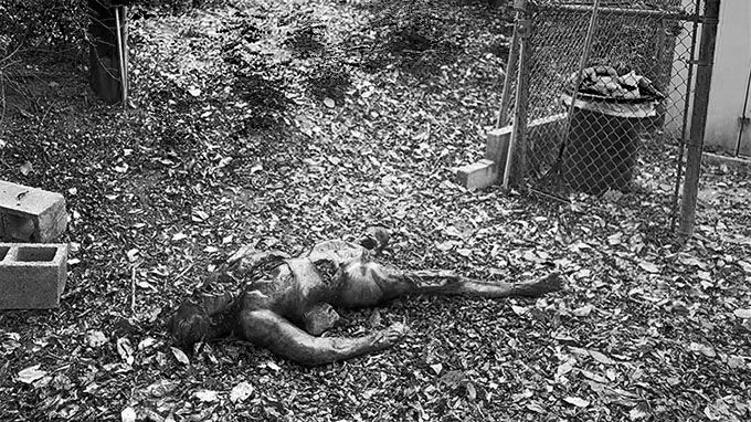 Body Farm in Knoxville, Tennessee - USA
