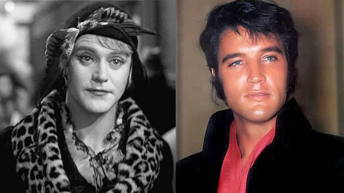 Daphne-Jerry From Some Like It Hot-Jack Lemmon-Elvis Presley