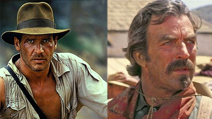 Indiana Jones_Harrison Ford_Tom Selleck