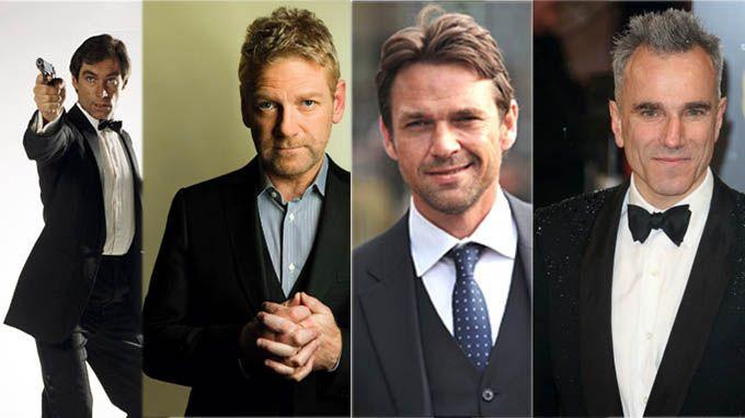 James Bond_Pierce Brosnan_Daniel Day-Lewis_Kenneth Branagh_Dougray Scott