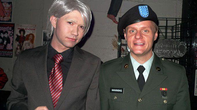 Julian Assange & Bradley Manning