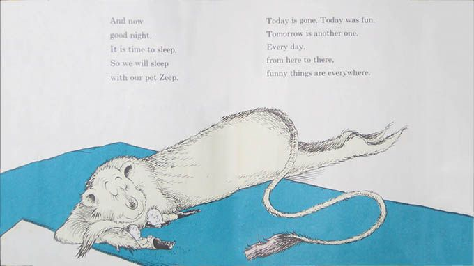 14 fun sayings from dr suess for the young at heart for Is tomorrow a good day to go fishing