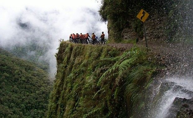road of death-Most Extreme Trips in the World