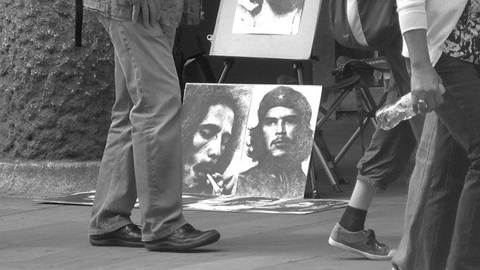 Bob Marley & Fidel Castro