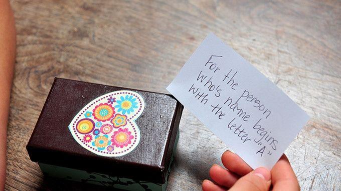 Christmas dice gift exchange