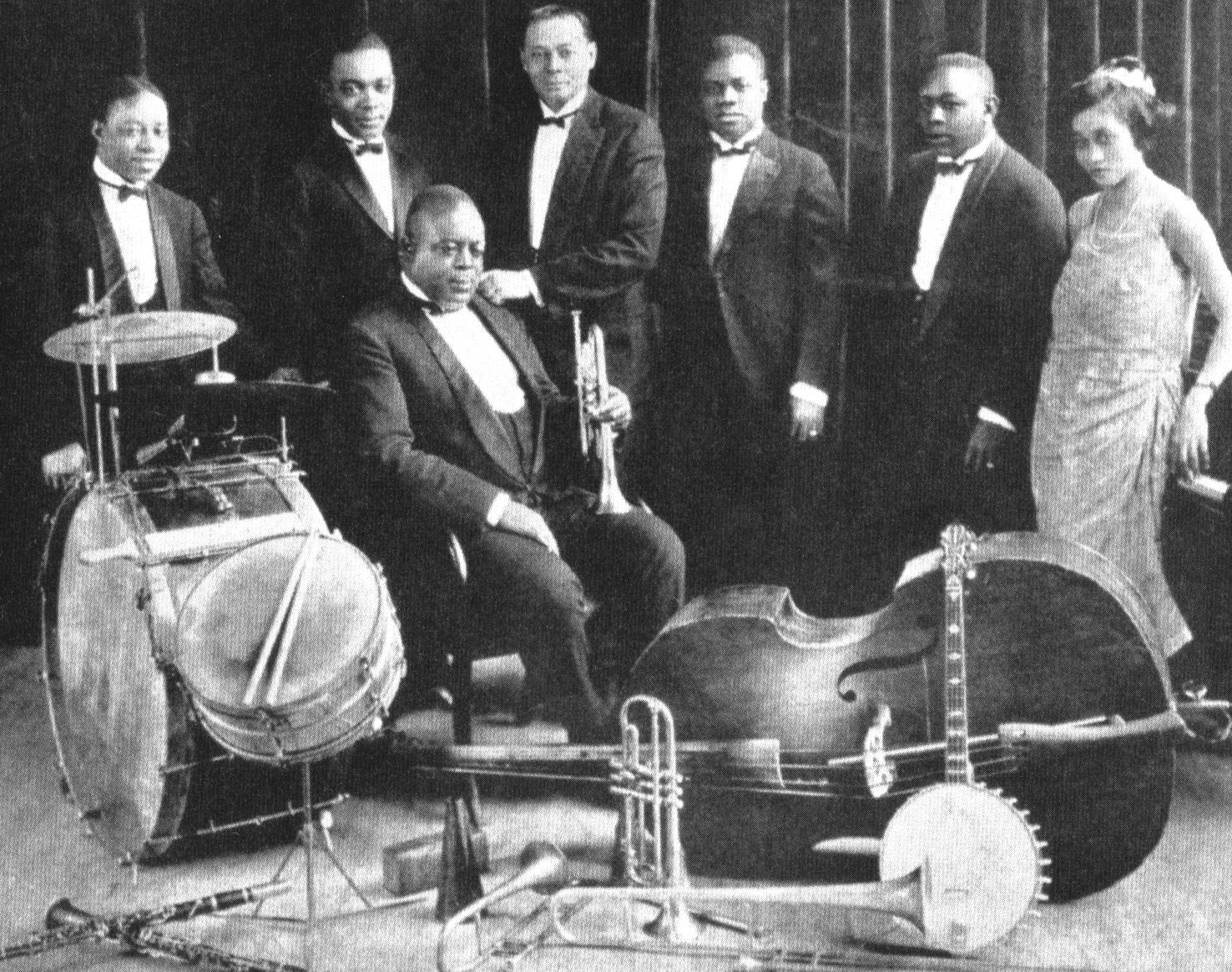 king Oliver - famous trumpet players