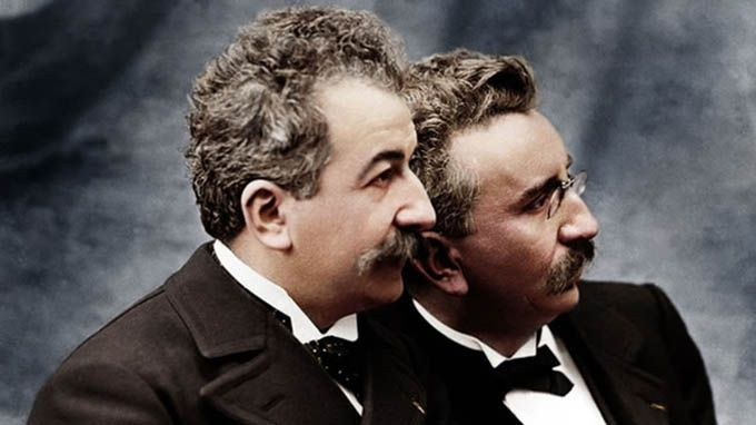 cinematograph Lumiere brothers