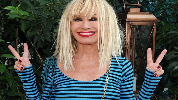 Betsey Johnson visits the Hamptons