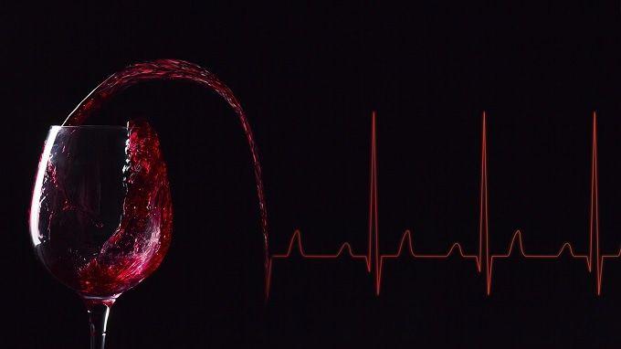 Drinking wine has health benefits