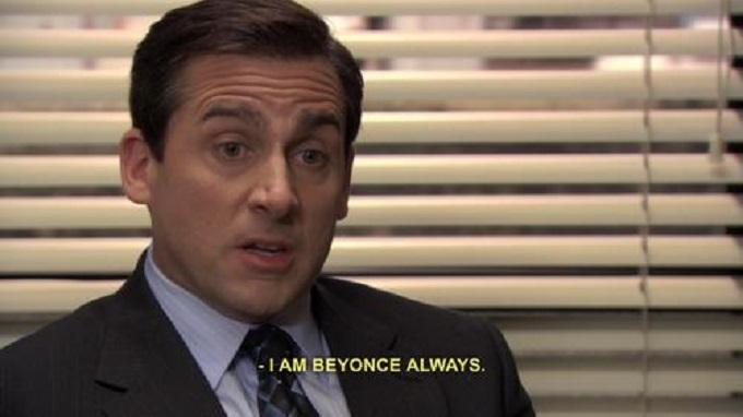 Beyonce, Michael Scott