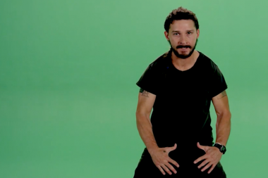 This is Why Shia LaBeouf Wants You To 'JUST DO IT!'