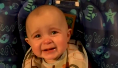 Have You Ever Seen a Baby Cry Emotional Tears?