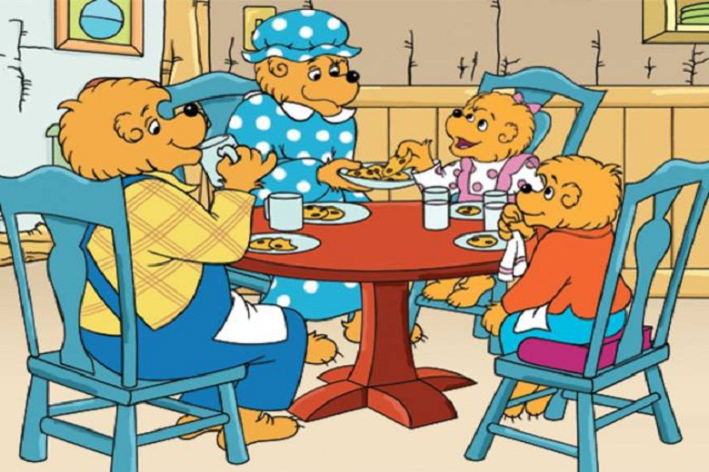 Image result for the berenstain bears family