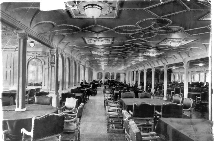 Dining Room Titanic