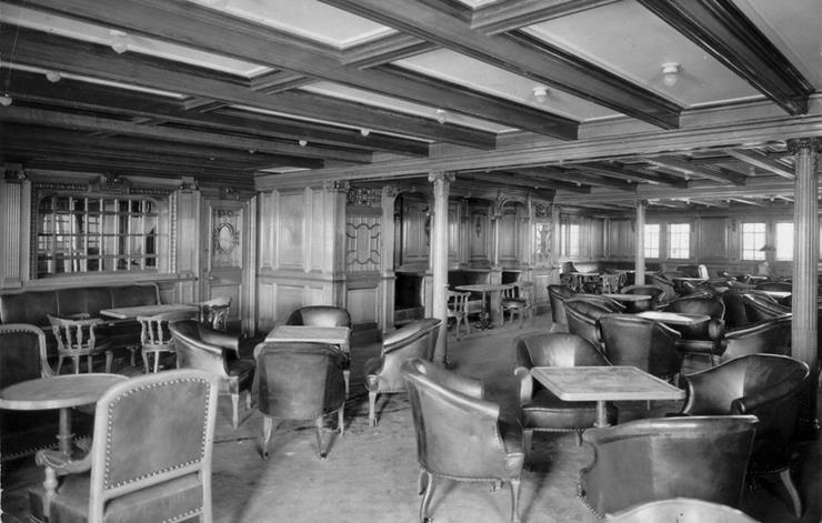Second Class Room Titanic