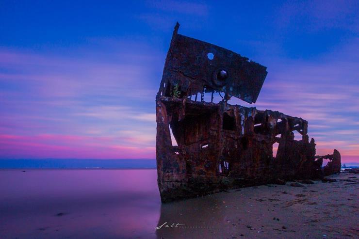 Shipwreck at Woody Point