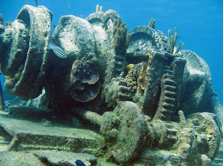 Shipwreck at Grand Caymon