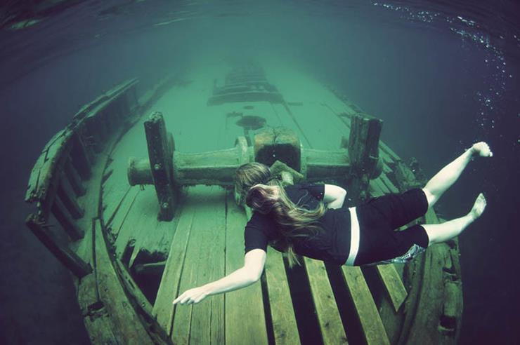 Shipwreck at Tobermoory Ontario