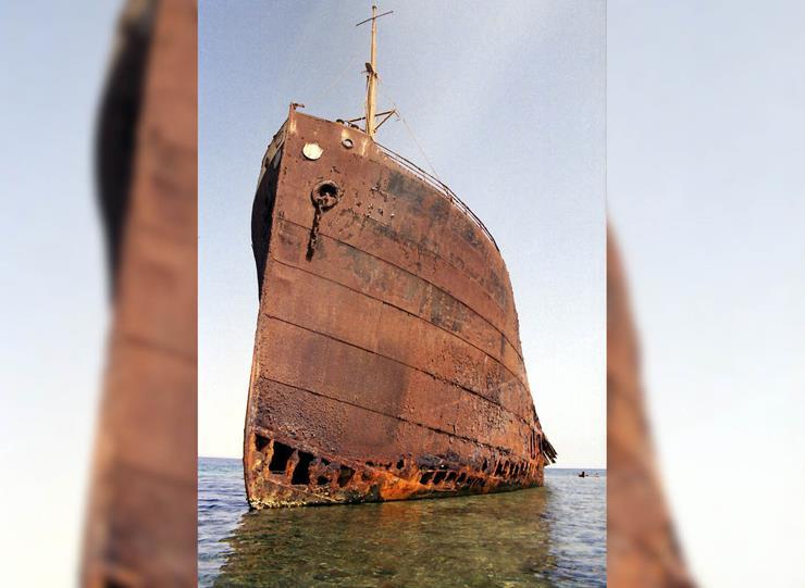 Shipwreck at Red Sea