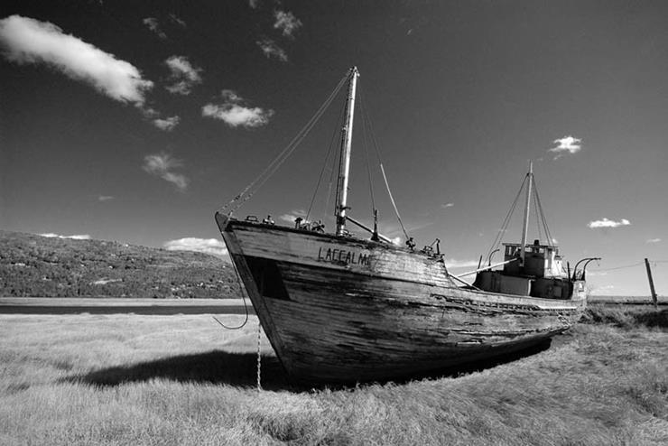 Shipwreck at Baie Saint Paul