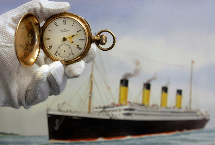 Gold Plated Watch - Titanic