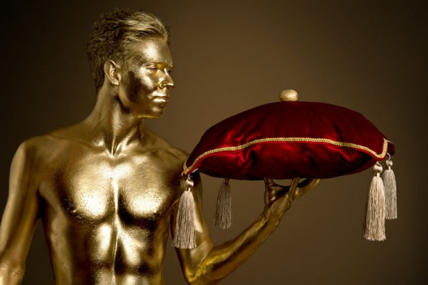Gold Person