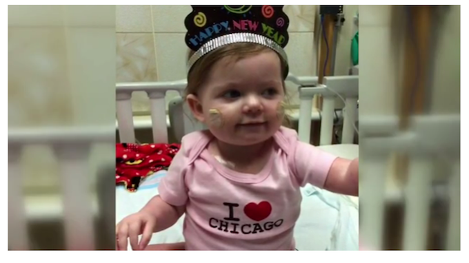 In her first 15 months of life, Ava went through two open heart surgeries [Credit: KLFY]