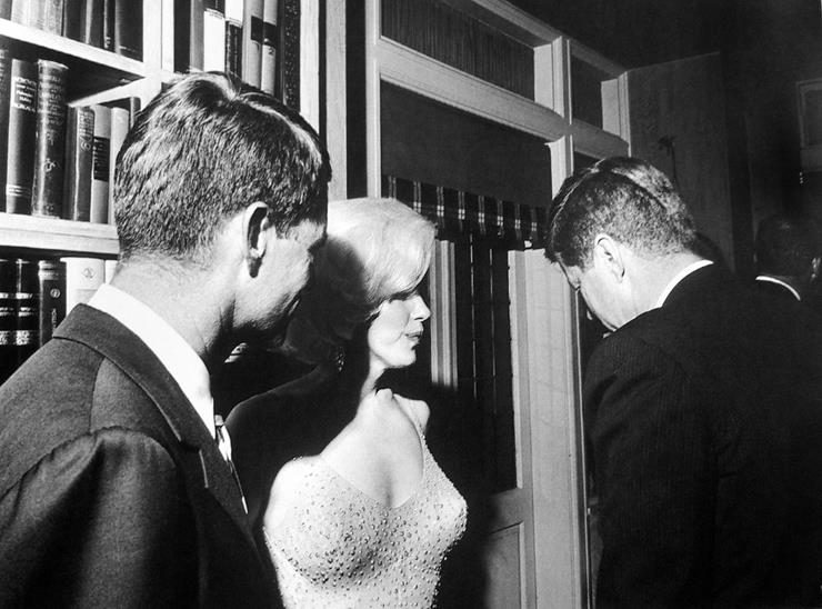 JFK and Marilyn Monroe