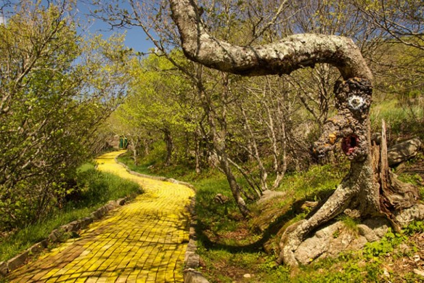 Abandoned Wizard of Oz Theme Park