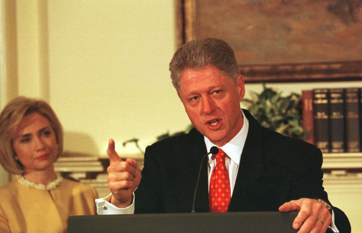 a history of bill clintons impeachment its reasons his supporters and his enemies On this day in history  after nearly 14 hours of debate, the house of representatives approves two articles of impeachment against president bill clinton.