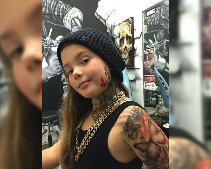 Tattooing Children
