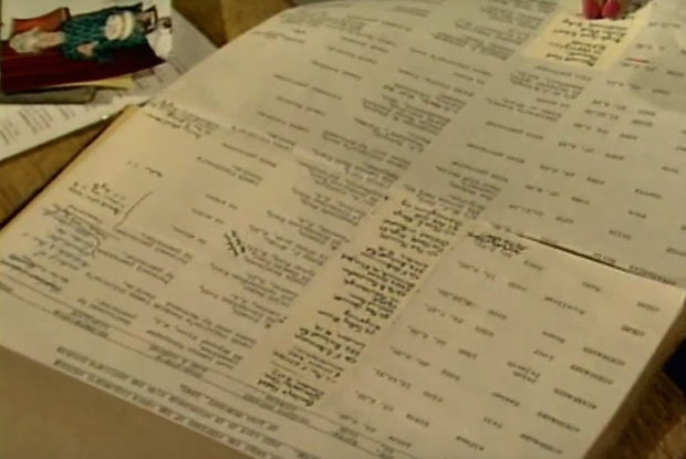 Scrapbook Found in Attic