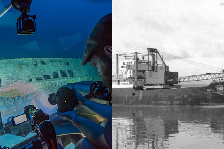U Boat Divers Photograph Insi...