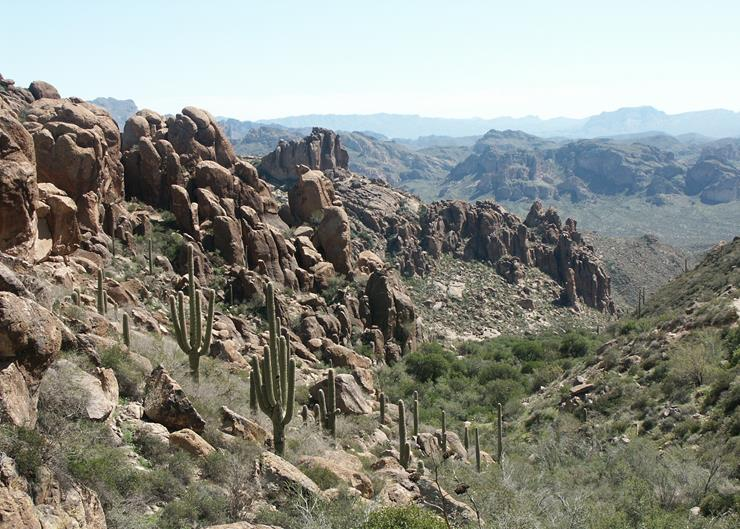 The Lost Dutchman's Gold Mine - Story