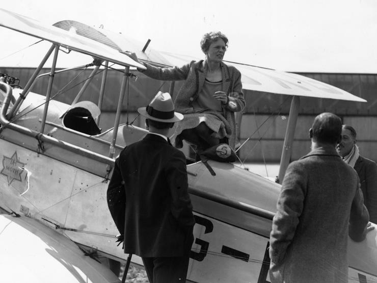 the theory behind the disappearance of amelia earhart The two men behind the find believe that they are in possession of  dismisses the competing theory that amelia crashed on  amelia earhart's disappearance:.