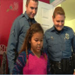 Police Surprise Little Girl With A New Decorated Bedroom