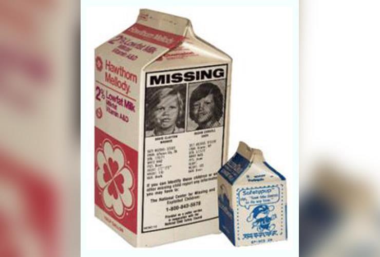 Etan Patz Milk Carton