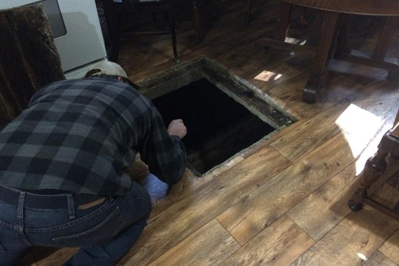 Mysterious Trapdoor