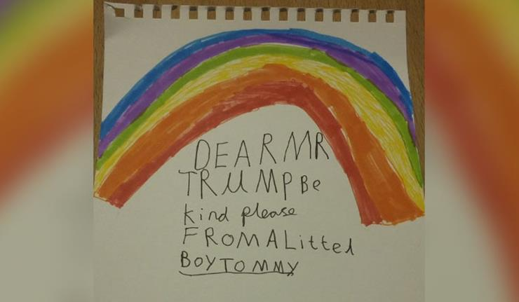 Kid's Letters to Trump