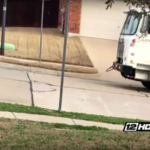Little Boy Wakes Up Early Every Week To Wave To The Garbage Man