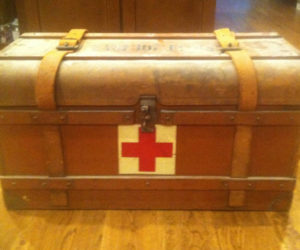 Mysterious Chest with Wartime Treasures