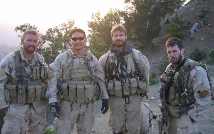 Marcus luttrell early life