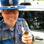 Trooper Ran Across A Busy Freeway To Save 6 Ducklings