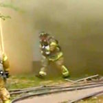 Fireman Catches Baby Thrown Out A Window Of Burning Building