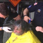 Kindhearted Police Officers Give Homeless Man A Makeover