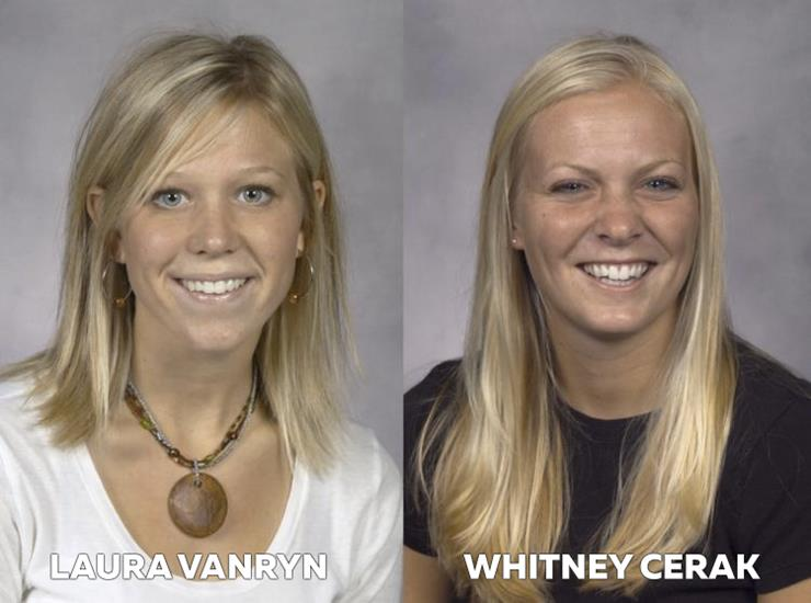 Whitney Cerak and Laura Van Ryn Story