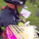 Firemen Rescue Boy's Card For Mom In Heaven