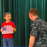 Military Dad Surprises Son After 7 Months At Sea
