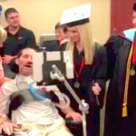 Sick Dad Sees Daughter Graduate In Hospital Ceremony